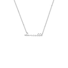 Load image into Gallery viewer, PERSONALIZED NAMEPLATE NECKLACE