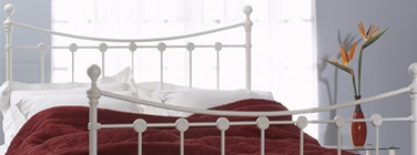 Reinforced Wrought Iron Beds