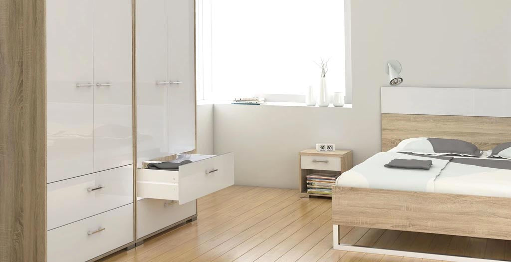 Helsinki Oak Bedroom Furniture