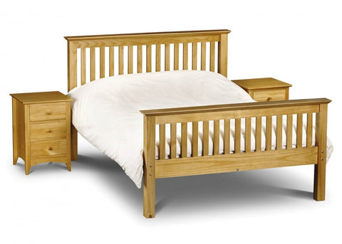Barcelona Pine High Foot End Bed