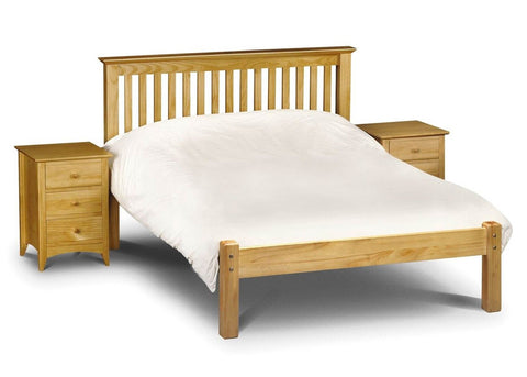 Barcelona Pine Low Foot End Bed