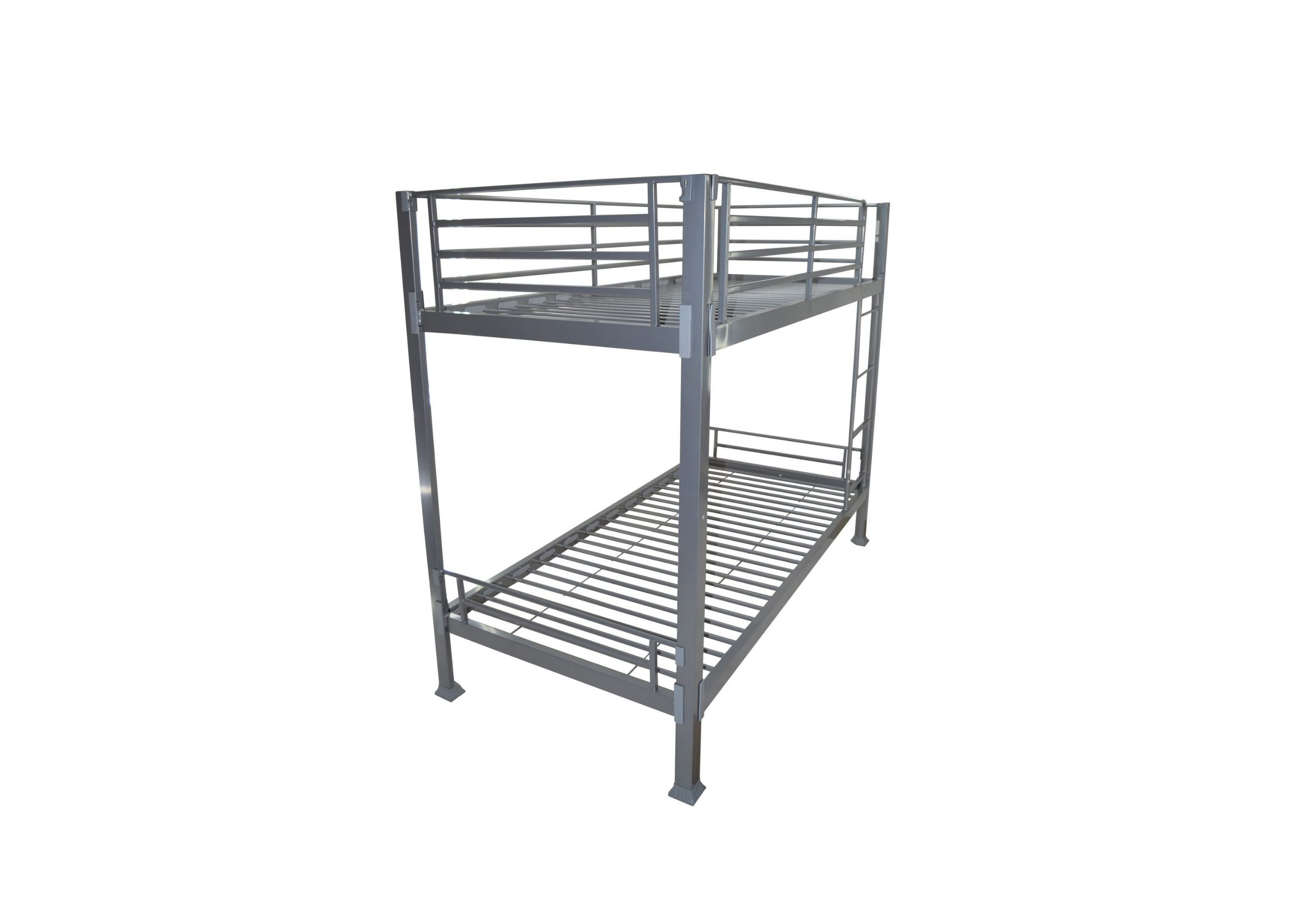 Picture of: Very Strong Metal Contract Bunk Bed Reinforced Beds