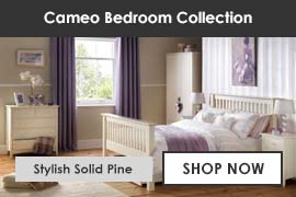 Cameo Solid Pine Bedroom Furniture