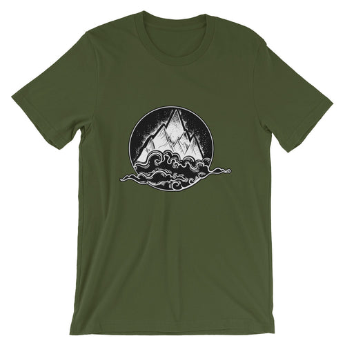Above the Clouds Mountain T-Shirt