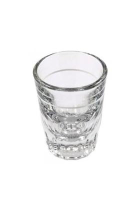 2oz Lined Shot Glass