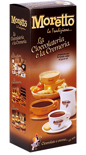 Moretto Hot Chocolate with Gianduja sachets 30g