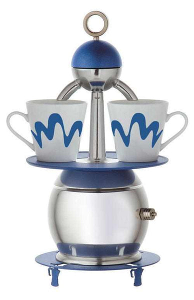 "2 Cup ""Papalina"" by Top Moka Italia (Blue)"