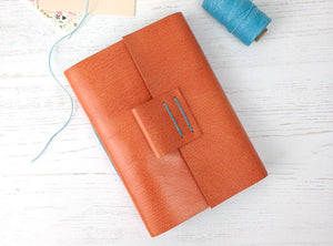 50% Sale on handmade leather Wedding Guest Books and Journals
