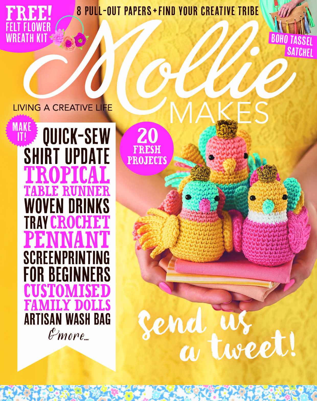Featured in Mollie Makes magazine