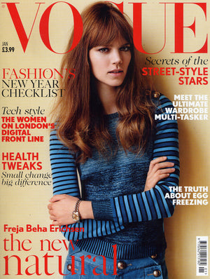 Press: As Seen In VOGUE January 2015