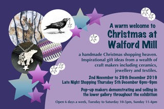 Christmas Gifts Handmade in Dorset by local Craft Makers Walford Mill 2019