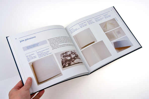 Julie Johnstone Essence Press featured in British Artist's Book Makers