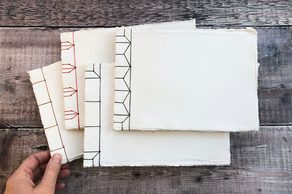 Stab Stitch Sketchbooks