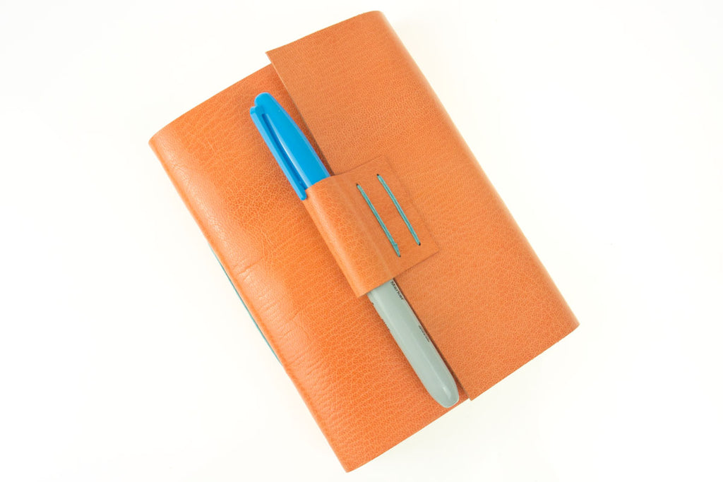 Peach Journal with penholder