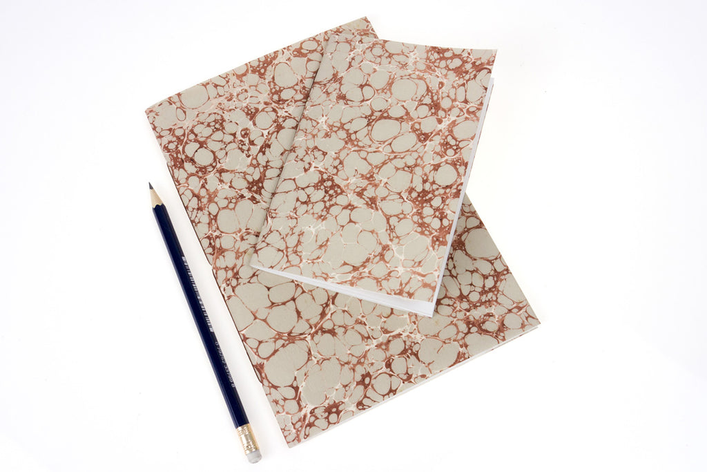Eau de Nil Vintage Hand Made Marbled Journals