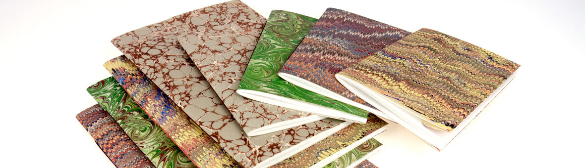 Hand Marbled Hand Bound Notebooks