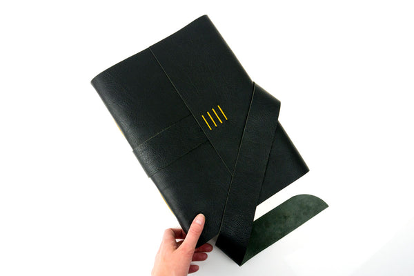 Large A4 Leather Books