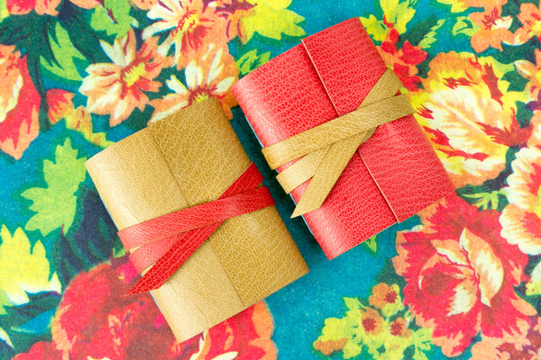 Shop Mini Journals Hand Made in Organic Leather
