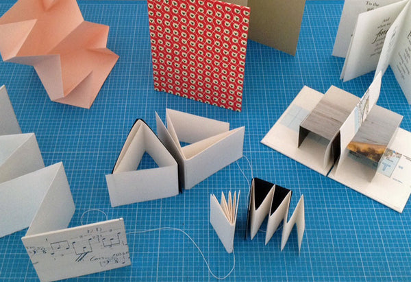 Folded Books bookbinding course with Susan Green