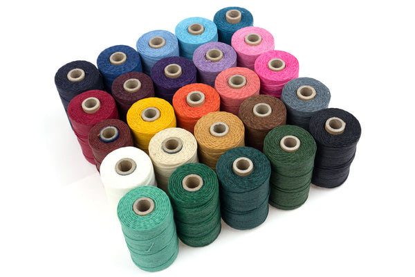 Crawford Waxed Irish Linen Thread special offer