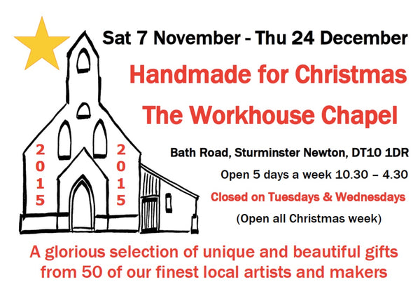 Handmade for Christmas at the Workhouse Chapel, Sturminster Newton in Dorset