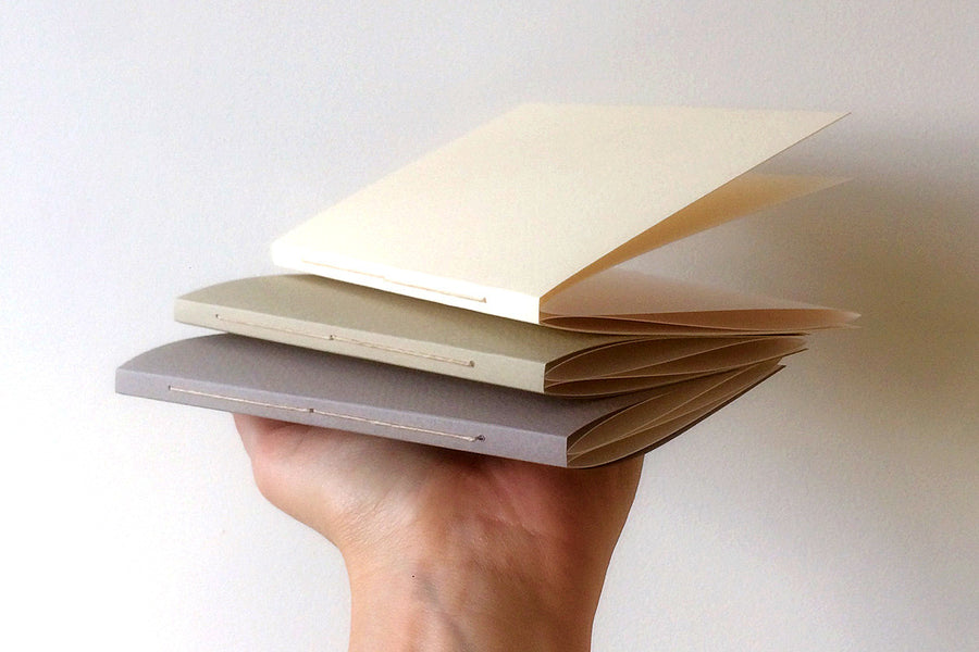 Accordion Sketchbooks: Set of 3 Square or Portrait