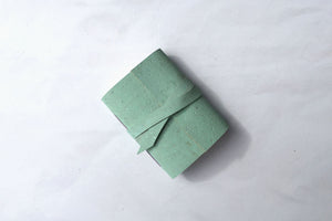 Mint Green Cork Miniature Journal from Bound by Hand