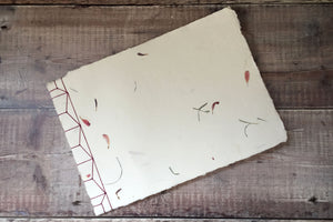 Flower Petal Paperback Sketchbook