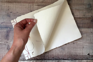 Cotton Rag Khadi Paper Sketchbook