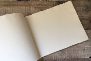Eco-friendly, recycled handmade pages