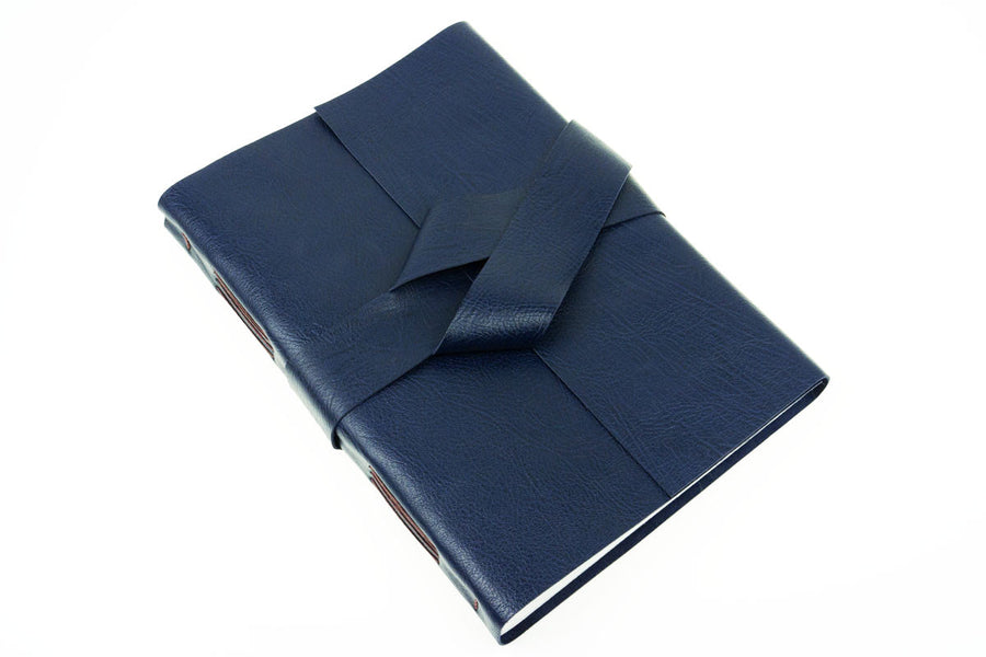 Leather Journal: Blueberry