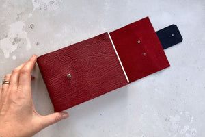 Travel Sketchbook hand bound in fine leather