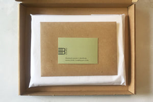Sustainable Letterbox Gift Set for Paper Lovers and Wedding Anniversaries