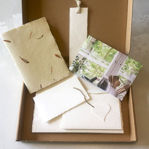 Paper Lover's Gift Box: letterbox care package for stationery lovers