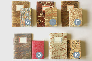 Small Marbled Notebook Gift Set: A6 and A7 paperback journals