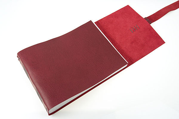 This softcover book is tactile, luxurious yet robust.