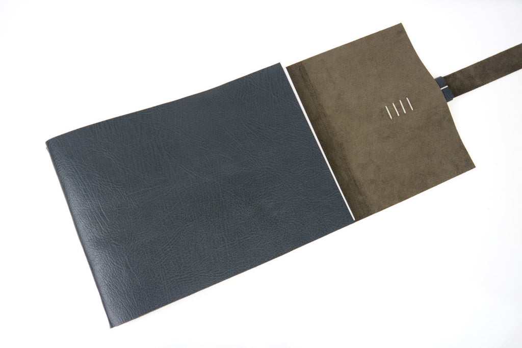 Leather Memory Books can be personalised
