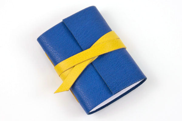 Mini Journal: Blue & Yellow