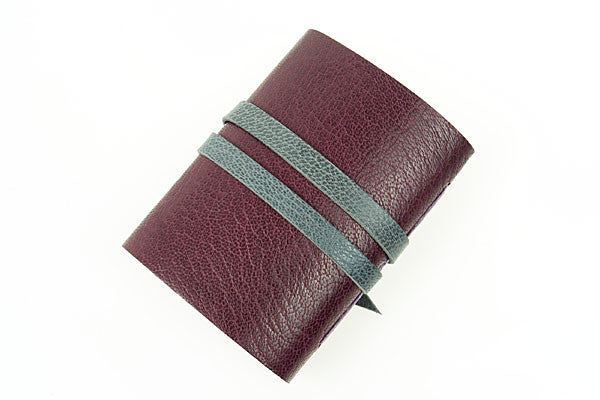 Miniature Journal: Maroon & Grey