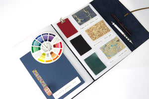Best quality leather scrapbook hand bound in the UK