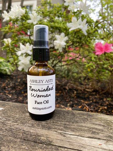 Nourished Woman Face Oil