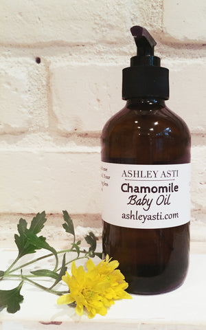 Chamomile Baby Oil