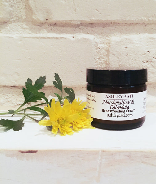Marshmallow & Calendula Breastfeeding Cream