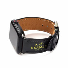 Load image into Gallery viewer, Hermes Style Leather Apple Watch Band Strap For iWatch Series 4/3/2/1 - Casememe.com