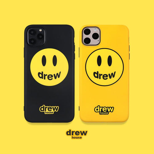 Drew House Style Silicone Shockproof Protective Designer iPhone Case For iPhone SE 11 Pro Max X XS Max XR 7 8 Plus