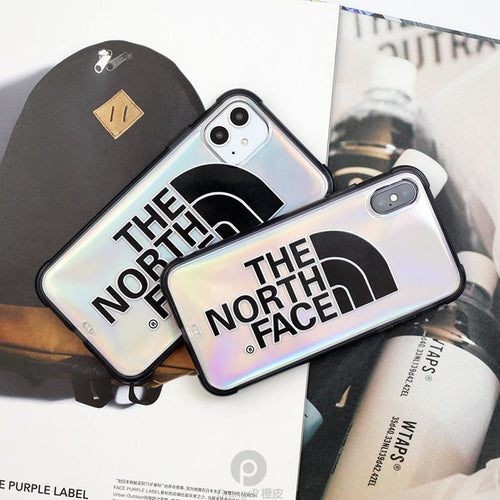 The North Face Style Clear Shockproof Protective Designer iPhone Case For iPhone SE 11 Pro Max X XS Max XR 7 8 Plus