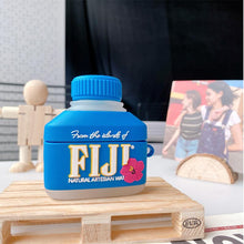 Load image into Gallery viewer, FIJI Mineral Water Silicone Protective Case For Apple Airpods 1 & 2 & Pro - Casememe.com