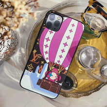 Load image into Gallery viewer, Louis Vuitton x Takashi Murakami Style Leather Fire Balloon Designer iPhone Case For iPhone SE 11 Pro Max X XS Max XR 7 8 Plus - Casememe.com