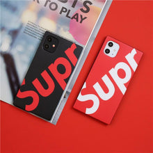 Load image into Gallery viewer, Supreme Style Matte Box Shockproof Protective Designer iPhone Case For iPhone 12 SE 11 Pro Max X XS Max XR 7 8 Plus - Casememe.com
