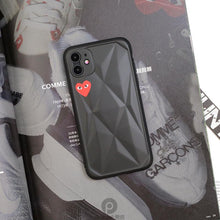 Load image into Gallery viewer, Comme Des Garcons PLAY Style Diamond Shockproof Protective Designer iPhone Case For iPhone SE 11 Pro Max X XS Max XR 7 8 Plus - Casememe.com